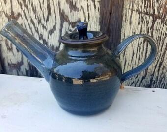 Dark Blue Teapot
