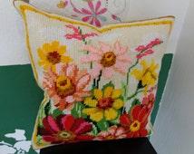 Unique decorative pillow handmade.
