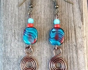 Copper Swirls