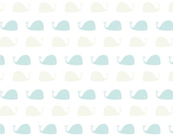Baby whale print