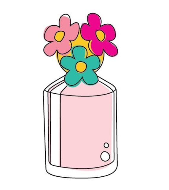 50% OFF SALE Perfume clipart doodle clipart Valentine