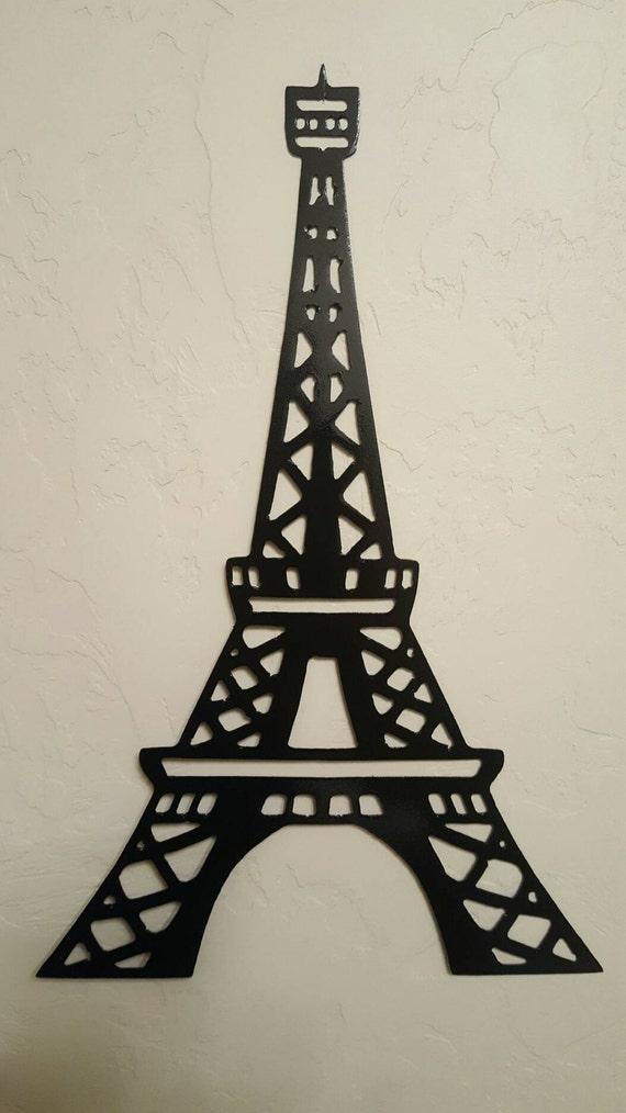 Eiffel Tower Metal Wall Art Paris Decor Metal Wall