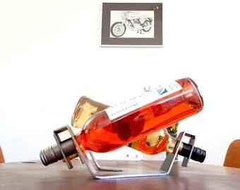 Modern wine rack // elegant table setting // wine bottle storage // wine drinker home decor // winerack