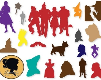 Clip Art Wizard Of Oz Clips wizard of oz clipart etsy svg files dorothy dxf for silhouette cricut vinyl files