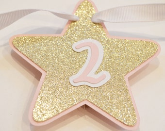 12 Month Star photo banner // star monthly photos // twinkle twinkle star banner // star first birthday // star milestone banner