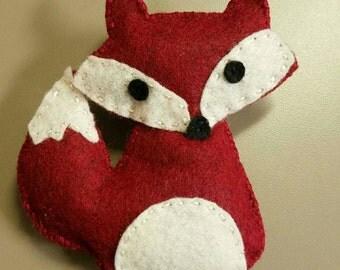 Catnip Felt Fox Toy