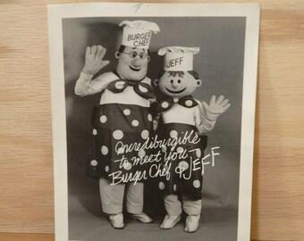 Burger Chef Photograph - Vintage