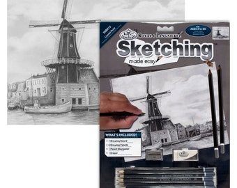 Sketching Made Easy-Windmill
