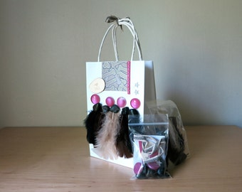 Gift bag with make-your-own kit