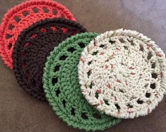Cotton Coasters-Set of 4