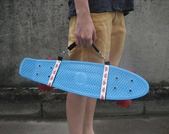Skateboard and cruiser made hand carrying handle / / reason for watermelons