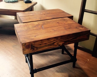 Handmade Matching Side Tables