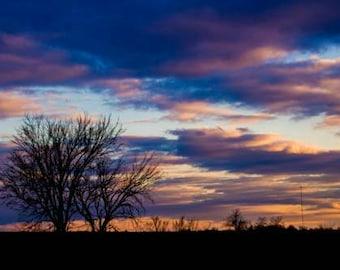 Beautiful clouds over Iowa