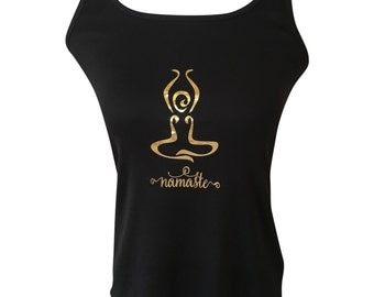 Yoga Racer-back Tank Top