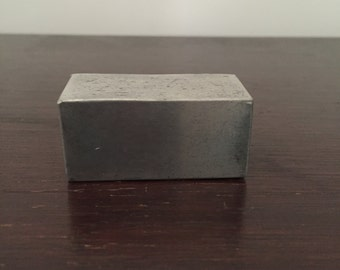 Small Pewter Box