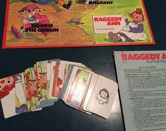 Pieces - 1974 Raggedy Ann board game by Milton Bradley.