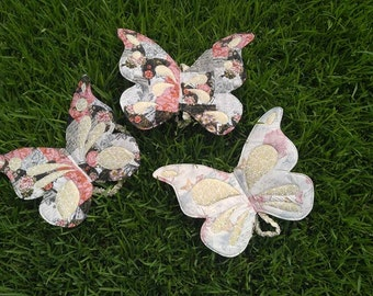 MADE TO ORDER Costume Wings - Butterfly, Fairy Wings, Handmade Quilted