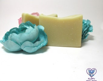 Green Tea Scented Handmade Artisan Soap Made with Green Tea | Gifts for Her | Easter Baskets for Adults | Easter Basket Stuffers for Adults