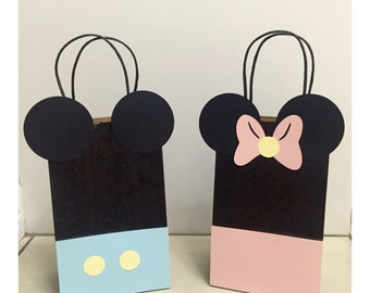 Baby Mickey & Minnie Mouse Party Gift Bags