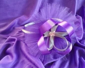 Beautiful Flower tulle headbands!