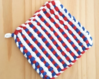 Americana/4th of July/Red White & Blue Pot Holder