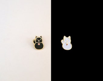 Maneki Neko (Lucky Cat) Soft Enamel Pin