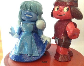 Ruby and Sapphire Sculpt.