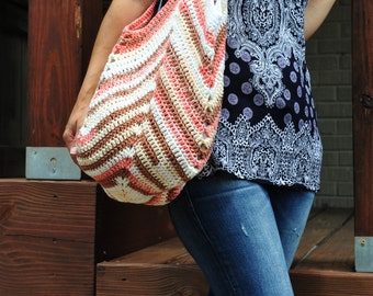 Crochet Beach Bag,Crochet Bag,Crochet Purse,Beach Bag,Beach Tote Bag,100% Cotton.MADE IN USA!