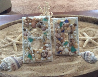 SEASHELL OUTLET COVERS