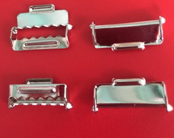 Clasps Pieces for straps 22 mm - set of 100