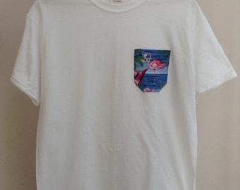 Flamingo Pocket Shirt