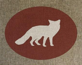 Woodland Fox Print