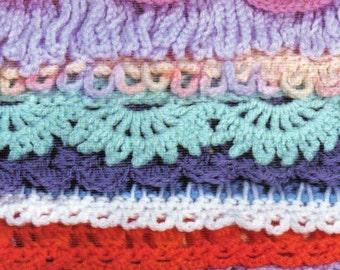 50 Crochet Afghan Bordersm PDF Format