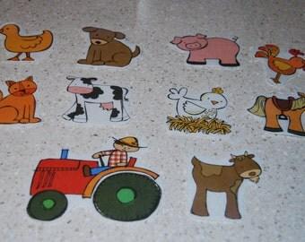 Old MacDonald Had a Farm Felt Story/Felt Pieces