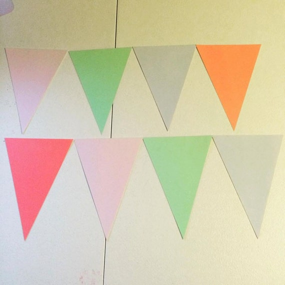 Triangle Banner - 8 Triangles