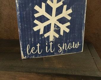 Let it snow block