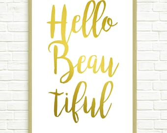 Hello Lovely- Printable Art, Home Decor