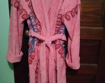 Vintage Chenille Bathrobe