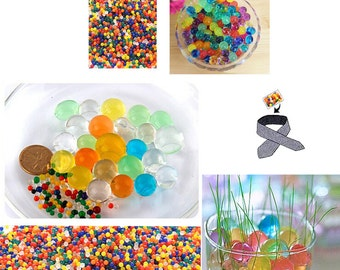 Mixed Water Beads Magic Crystal Soil Mud Balls for Wedding, Party, Decor, Flower Arrangements - Craft-Home Decor-Cooling, 5 grams