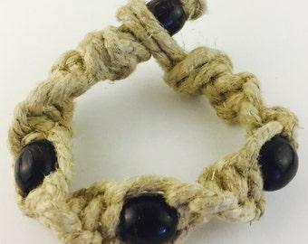 Giant hemp bracelet