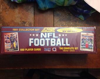 NFL Score 1991 Collector's Set