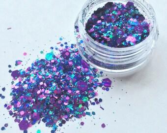 Ultimate Purple Pixie Face Glitter