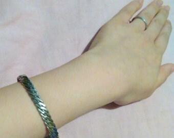 Shiny Sterling Silver Bracelet