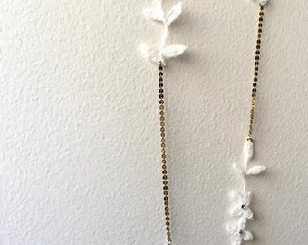 Bridal Gift - Lace Station Necklace