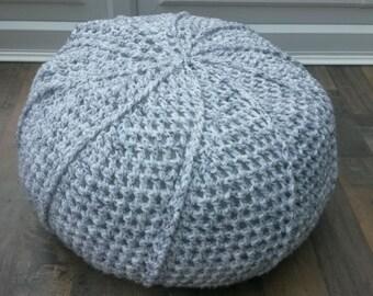 Handmade Crochet Pouffe/Footstool