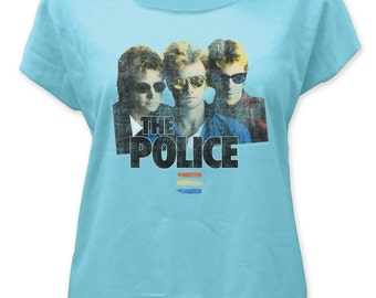 Police Synchronicity Women's Tee - POLDOL01(Blue)