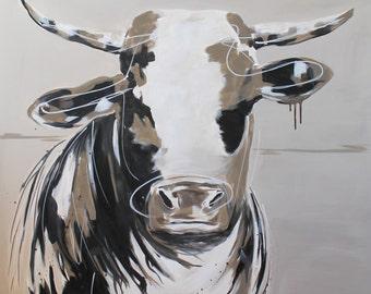 Original Cow Print