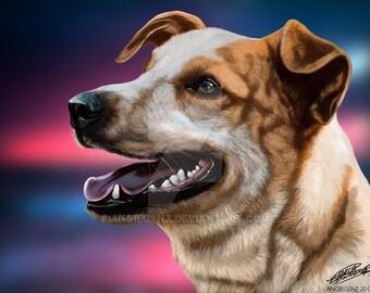 Realistic Pet Portrait