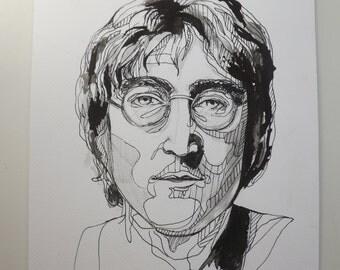 Original John Lennon Portrait