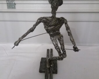 Ski Sculpture